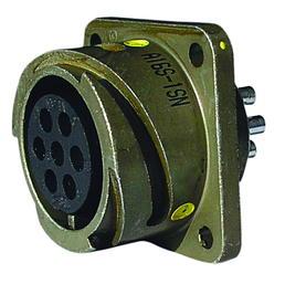 Steckdose mit Kontaktbuchsen VG 95 234-A 16S-1 SN