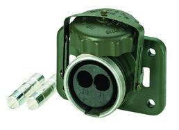 2-polige 24-Volt-Steckdose ohne Kontakte