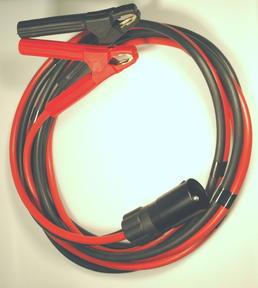 Starthilfekabel mit 1 Stecker 2-polig 35 mm² und 2 Polzangen