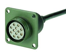 12-polige 24-Volt-Steckdose mit Leitung