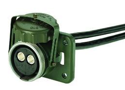 2-polige 24-Volt-Steckdose VG 96 917 mit anschlussfertiger Leitung