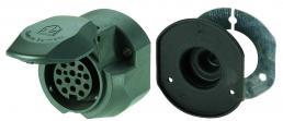 13-polige 12-Volt-Steckdose ISO 11 446