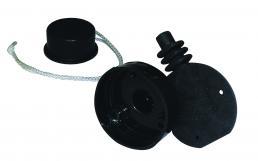 Flächendichtung für Steckdose mit runder Form